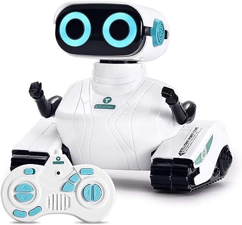 ALLCELE Jouet Robot Enfants, Intelligent Robot Jouets Jeux, Mignon Sons Amusant et Lumières, Cadeau pour Les Enfants ...
