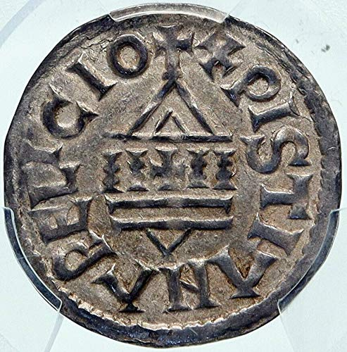 1000 FR FRANCE Carolingian LOUIS the PIOUS Son of Charlem coin AU 55 PCGS