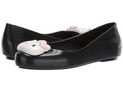 Mini Melissa Mel Space Love + Hello Kitty INF (Little Kid/Big Kid) (Black/White) Girl
