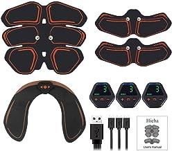 Abs spierstimulator, thuisgymnastiek ems lichaamsafslanken elektrische stimulator, heup buik trainer riem fitness vetverbr...