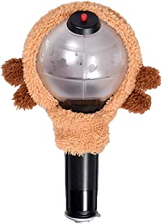 Hosston BTS Lightstick Cover, Kpop Bangtan Boys Cute Cotton Concert Lamp Bomb Light Stick Case Best Gift for The Army(Style 05)