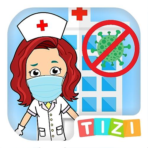Meu Hospital Tizi - Jogos de Médico para Crianças