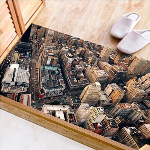 JY ART V Wand-Aufkleber Küche Deko Badezimmer-Gestaltung - Küchen-Fliesen überkleben - Dekorative Bad-Gestaltung - Fliesen-Aufkleber 120 * 60CM, DB003, 120 * 60CM