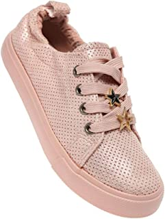 Life by Shoppers Stop Girls Casual Wear Laceup Sneakers