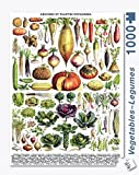 New York Puzzle Company - Vegetables ~ L?gumes - 1000 Piece Jigsaw Puzzle by New York Puzzle Company