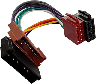 AERZETIX Adaptador E7 con cables enchufes para autoradio ISO