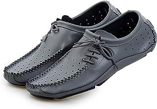 [Cici-shop] メンズ 革靴 カジュアルシューズ レースアップシューズ 紳士靴 通気性