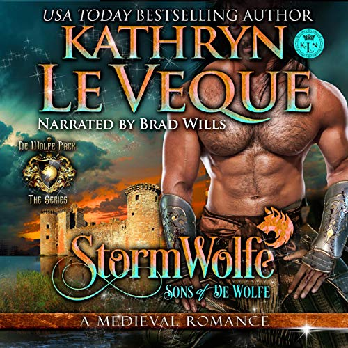 StormWolfe: Sons of de Wolfe audiobook cover art