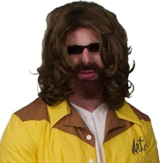 InCogneato Adult The Big Lebowski The Dude Wig and Beard Kit