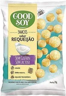 Snack GoodSoy Requeijão – Sem glúten, sem lactose - Snack Saudável – 25g