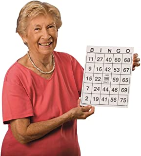Hasbro Large-Print Bingo Cards (Set of 25)