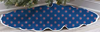 chicago cubs tree skirt