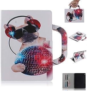 SATURCASE Huawei Mediapad M3 Lite 10 Funda, Hermoso Patrón Cuero De La PU Magnético Capirotazo Billetera Ranuras Apoyo Manija Funda Carcasa Case para Huawei Mediapad M3 Lite 10 (10.1