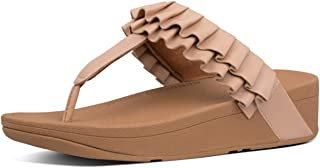 FitFlop Petal Ruffle Womens Thong Sandals