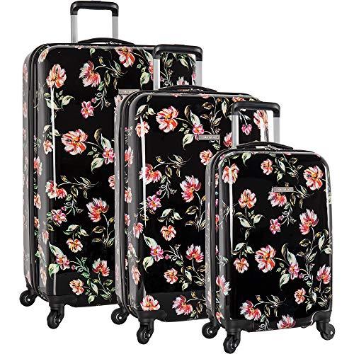Nine West 3 Piece Hardside Spinner Luggage Suitcase...