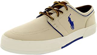 Polo Ralph Lauren Mens Faxon Low Khaki Sneaker - 11