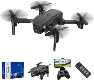 infinitoo RC Drone with 4K HD Camera WiFi FPV RC Quadcopter with Trajectory Flight,3D Flips,Altitude Hold,Headless Mode,G-...