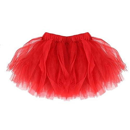 tutú niña, K-youth® vestidos de fiesta para niñas tutu bebe niña tutu ballet niña tulle ballet tutú falda niñas falda de tul tutú clásica de ballet para disfraz fiesta