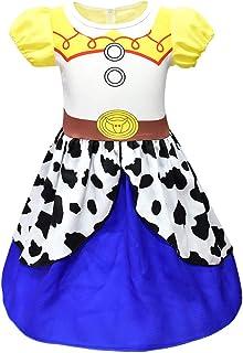 Thombase Jessie Girls Dress Costume Cosplay Party Birthday