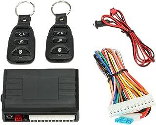 KKmoon Kit de Caja Central de Control Remoto con Botón de Libración Sistema de Entrada de Puerta de Coche Universal sin Llave