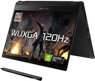 "ASUS ROG Flow X13 GV301QEZ 13.4"" WUXGA 120Hz Touchscreen Gaming Laptop (AMD Ryzen 9-5900HS, Nvidia GeForce RTX 3050Ti, 16G..."
