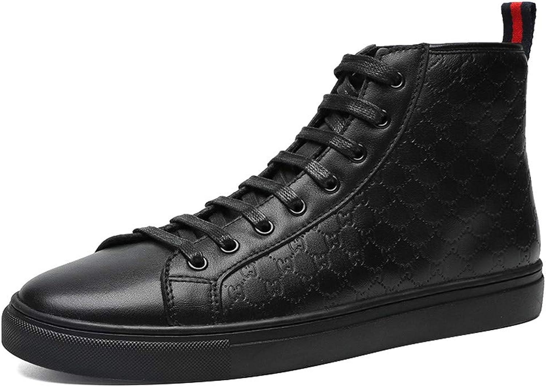 MZLWTL skor skor skor skor Man höstas tillfälliga små svarta skor vilda svarta mäns skor  2018 butik