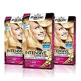 Palette Intense Cream Coloration Intensive Coloración del Cabello, 10 Rubio Muy Claro - Pack de 3