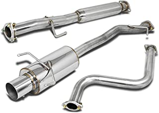 For Honda Accord Stainless Steel 4 inches Muffler Tip Catback Exhaust System - 4th Gen CB7 CB9 F22