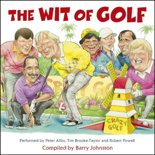 The Wit of Golf audiobook cover art