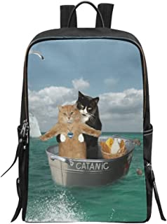 Bag Funny Catanic Two Cats Cosplay Titanic Backpack Daypack Backpack Daypack