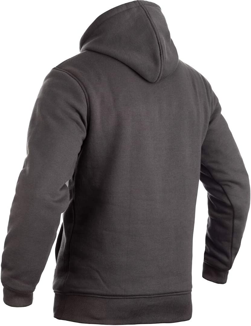 Grey//Lime RST 102412 Pullover Reinforced Lined CE Textile Hoodie