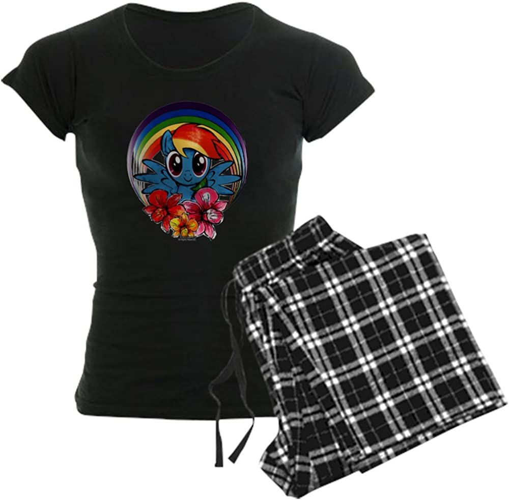 CafePress My Little Pony Rainbow Flowers Women's PJs Dash Limited OFFicial shop time for free shipping