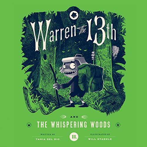 Warren the 13th and the Whispering Woods audiobook cover art