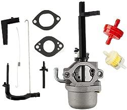 HQparts Carburetor & Fuel Filter for Generac Wheelhouse 5500 5550 Watt Generator Briggs & Stratton