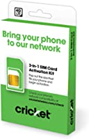 Cricket Wireless 3-in-1 SIM Kit - Bring Your Own Phone - 2.0