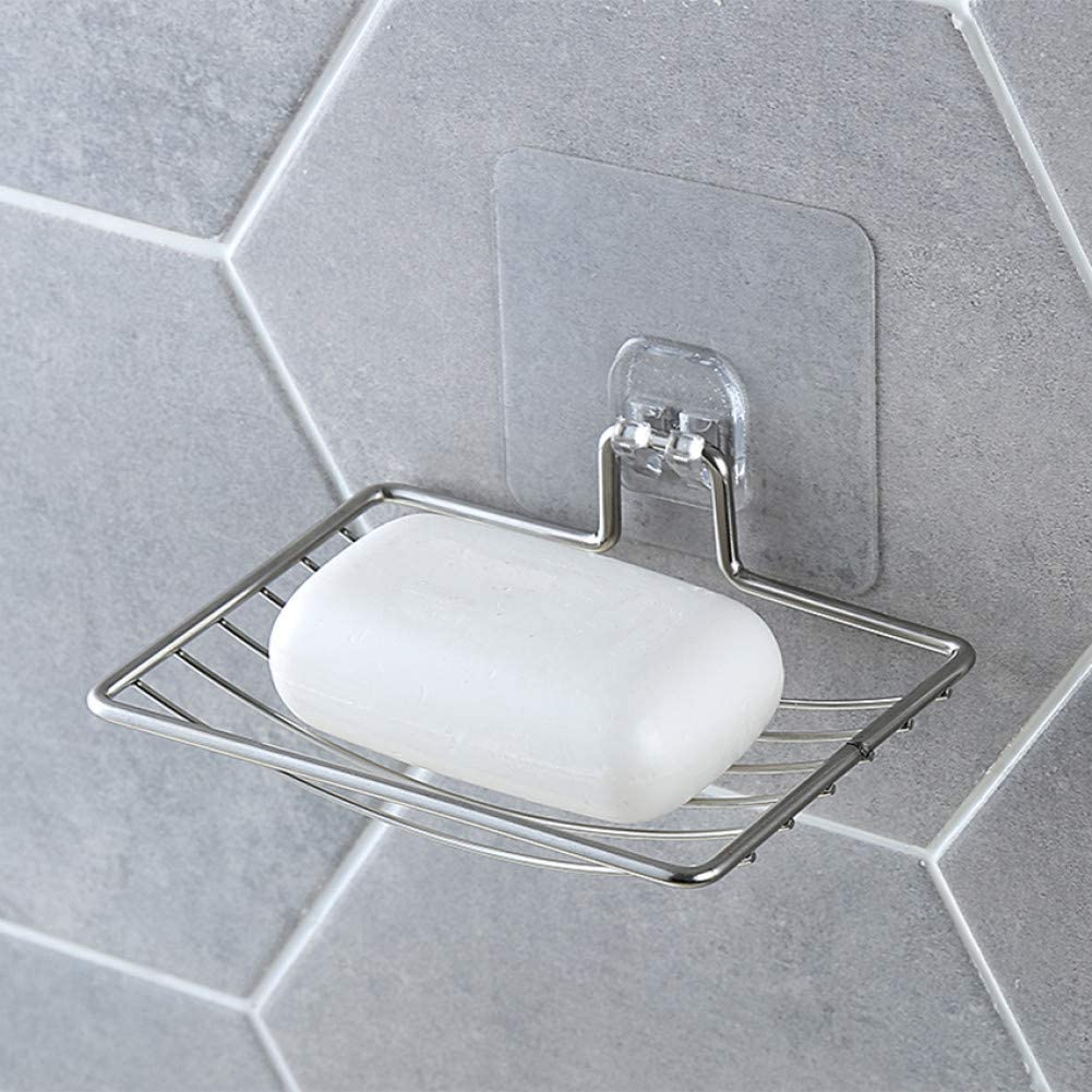 WY-YAN HZR Stainless Steel Soap Minneapolis Mall Past Topics on TV Dish Silver Bathroom Vacuum