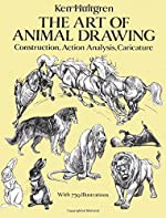 The Art of Animal Drawing - Construction, Action Analysis, Caricature de Ken Hultgen