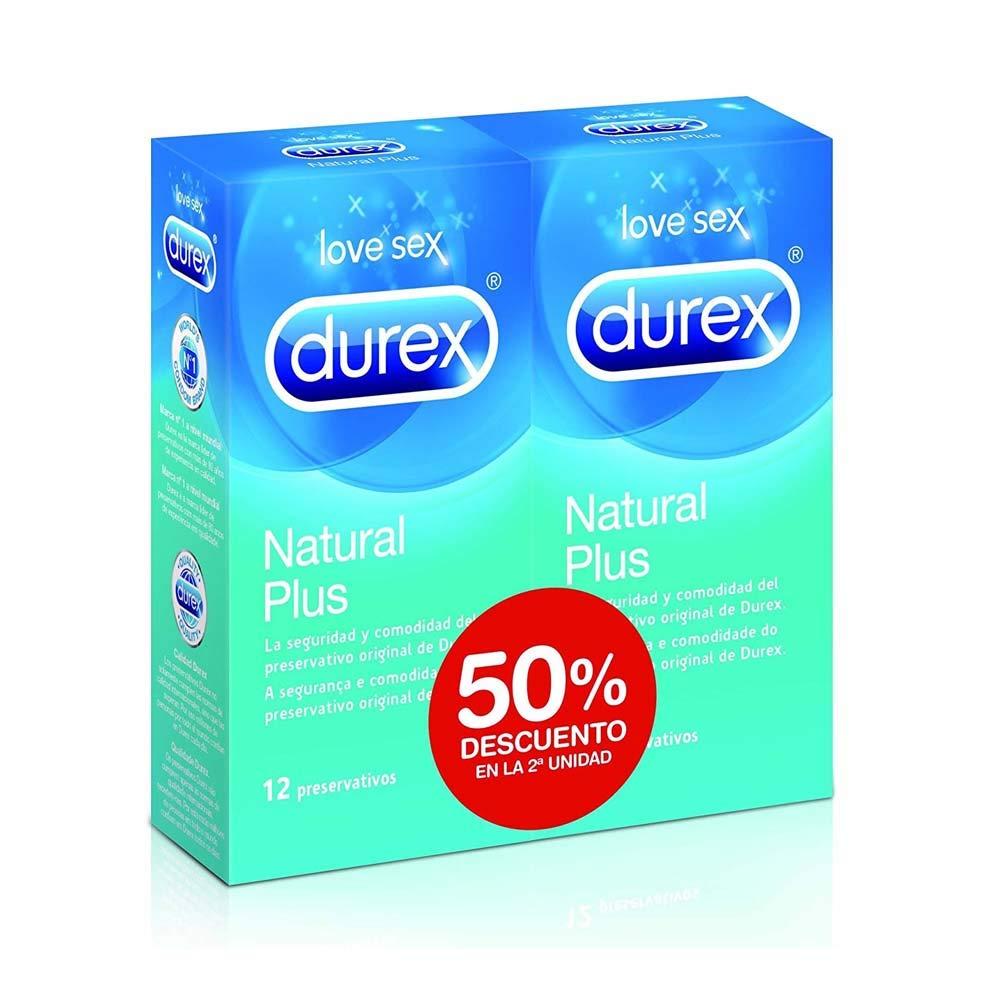 DUREX Natural Plus 12 Duplo: Amazon.es: Hogar