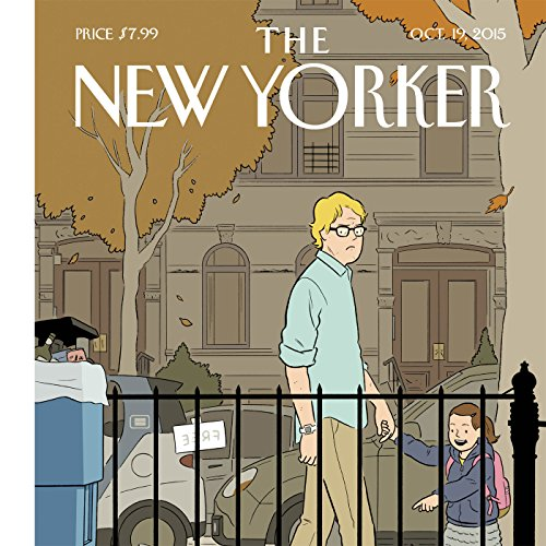 The New Yorker, October 19, 2015 (Amy Davidson, Malcolm Gladwell, Jane Kramer) cover art