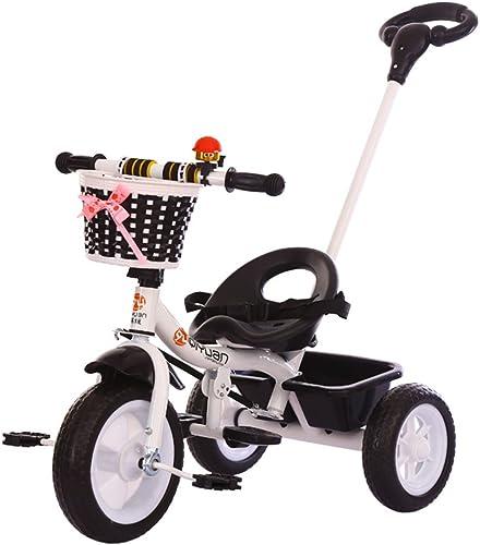 klassische trike mit push griff kinder trike dreirad fahrt