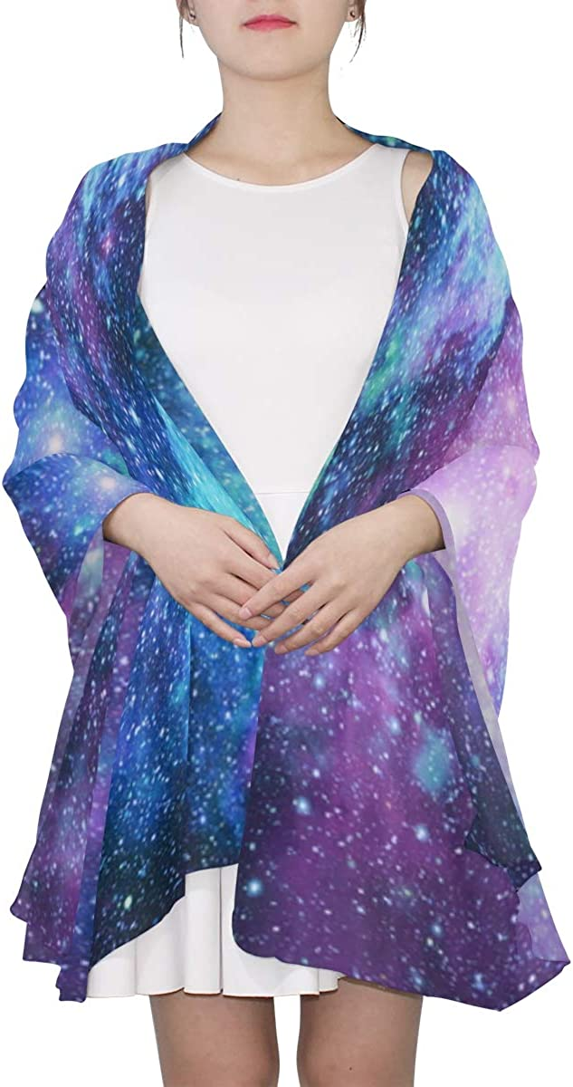 Beautiful Star Field Unique Fashion Scarf For Women Lightweight Fashion Fall Winter Print Scarves Shawl Wraps Gifts For Early Spring