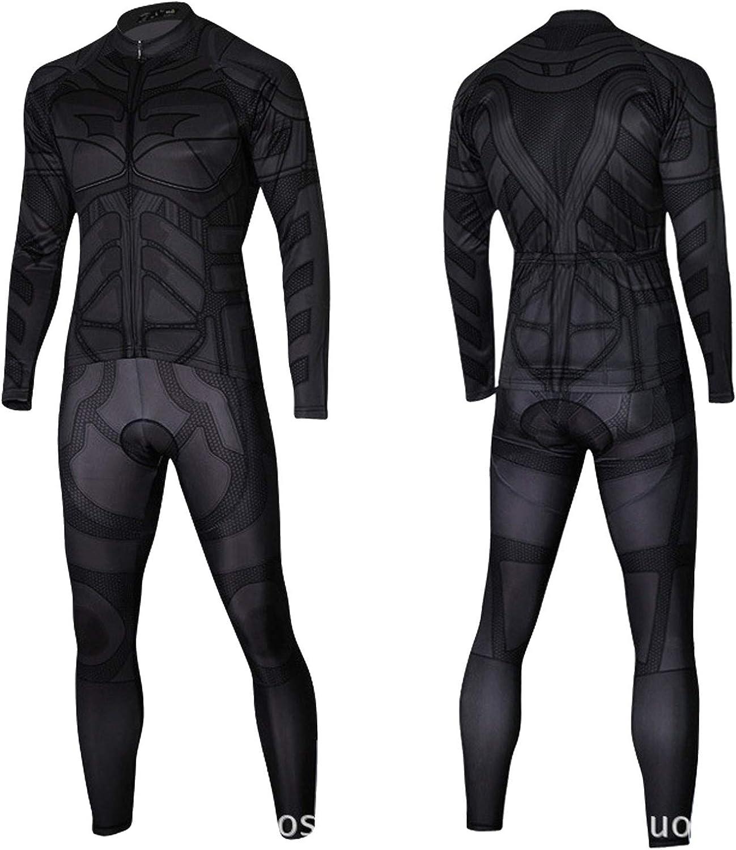 Cycle Clothes Set Mens Batman shipfree Long MTB Sleeve Pro Bike Clothing New popularity