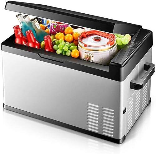 ZLL Congélateur-frigorifique avec compresseur à affichage numérique pour voiture, portable, 12 V   24 V,20L