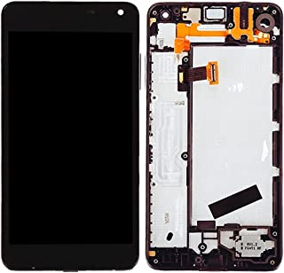WUXUN-PHONE ACCESSORY Repair Parts Compatible with Microsoft Lumia 650 LCD Screen + Touch Screen Digitizer Assembly