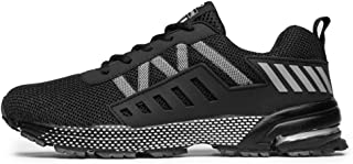 Zapatillas para Hombres Mujer Deportivo Zapatos Transpirable Zapatos para Correr Calzado Casual de Fitness al Aire Libre 36-46 EU