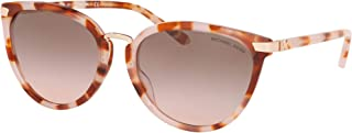 Michael Kors MK2103 379111 Milky Coral Tort Claremont Cats Eyes Sunglasses Lens