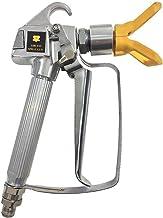 3600PSI Airless-hogedruk-verfspuitpistool Airbrush-mondbescherming voor Wagner Titanium pompsproeimachine - geel