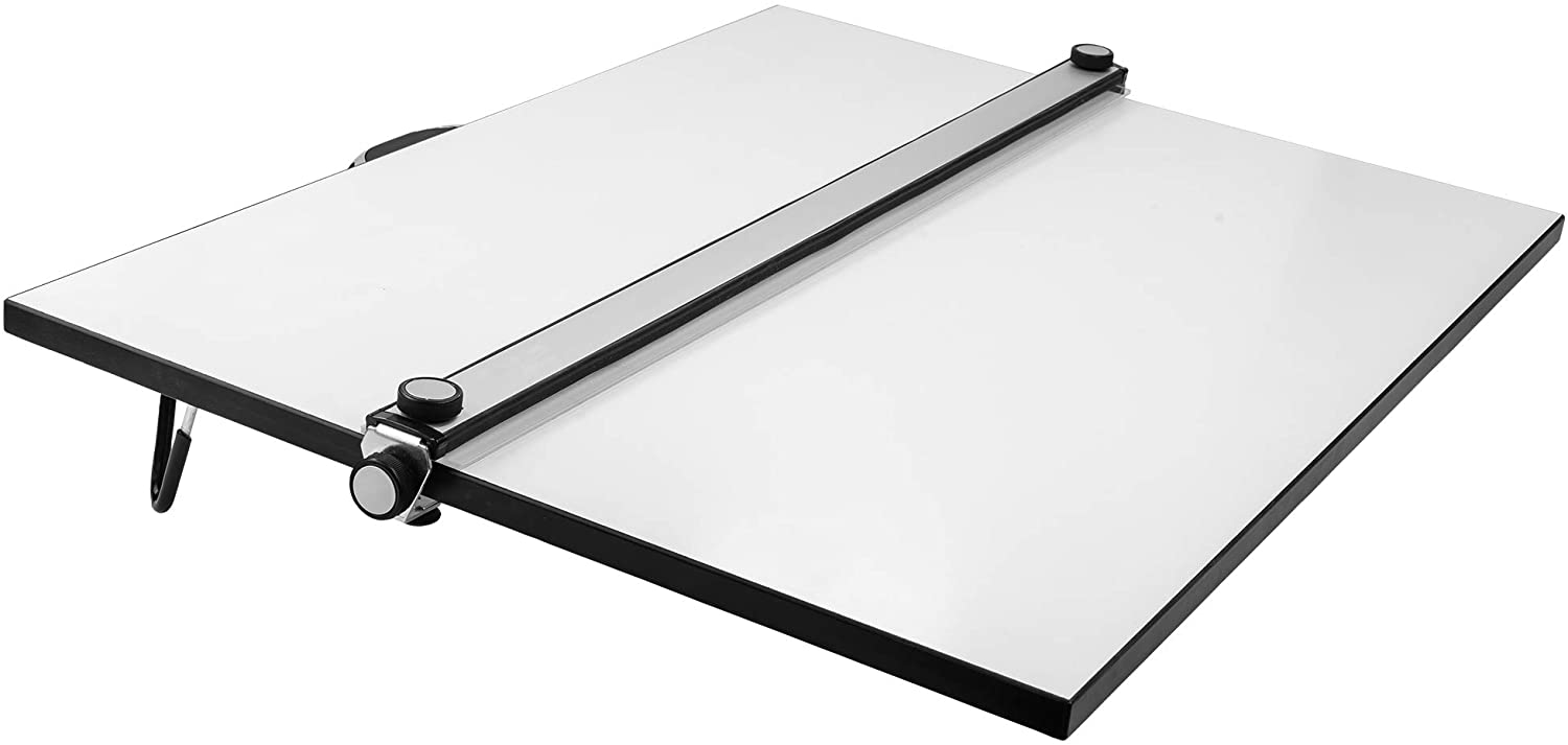 Pacific Arc Table Albuquerque Mall Top Drawing Board 16 Parallel Bar White 40% OFF Cheap Sale with