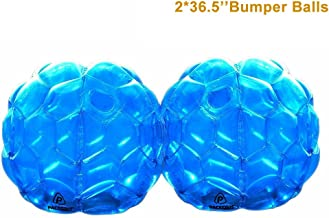 PACKGOUT Bumper Balls, Inflatable Body Bubble Ball Sumo Bumper Bopper Toys for Kids & Adults 36.5
