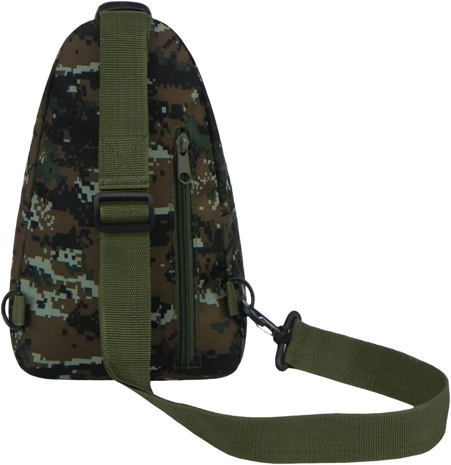 East West U.S.A RTC528 Tactical Camouflage Military Sling Chest Utility Pack Bag